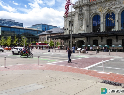 17th and Wynkoop Receives Ped/Bike-Friendly Upgrades