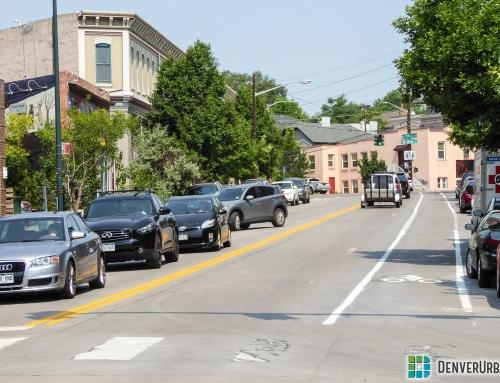 Denver Rolls Out New 29th Avenue/15th Street Bike Lanes