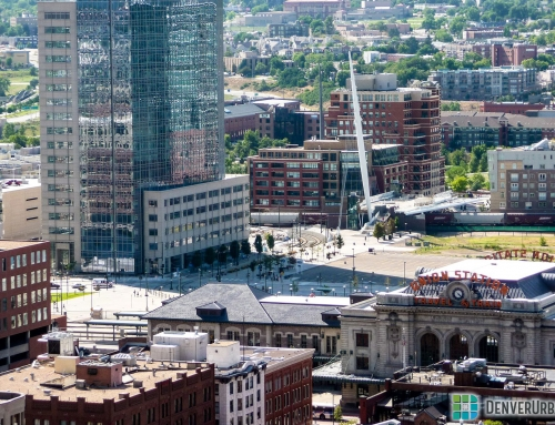 Blast from the Past: Union Station's 16th and Wewatta from Above