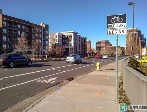 The South Monaco Bike Lane Is Fairly Convenient but Could Use More Riders
